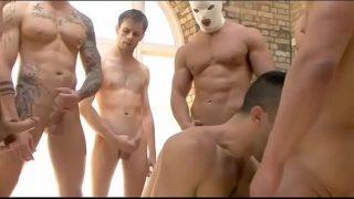 bukkake boy group